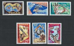 Tchad YT 104-109 Neuf Sans Charnière - XX - MNH - Chad (1960-...)