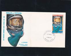 Wallis Et Futuna Enveloppe 1er Jour PA 108 Shepard - Unclassified