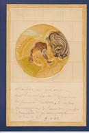 CPA Kirchner Raphael Art Nouveau Femme Woman Circulé Gaufré Embossed - Kirchner, Raphael
