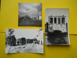 Photo TRAMWAY CHARENTE  , Collection Bourneuf ,lire Descriptif  ,Gare De Roumazieres  ,Autorail Brissonneau - Trenes