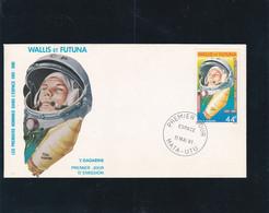 Wallis Et Futuna Enveloppe 1er Jour PA 109  Gagarine - Unclassified