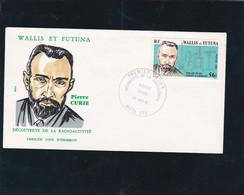 Wallis Et Futuna Enveloppe 1er Jour 1981 N° 266 Pierre Curie - Maximum Cards