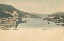 Dinant; Souvenir. La Meuse En Aval - Non Voyagé. (Nels - Bruxelles) - Dinant