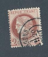 FRANCE - N° 51 OBLITERE - 1872 - COTE : 15€ - 1871-1875 Cérès