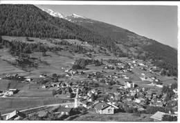 Vercorin, Vue Générale. Circulée Vercorin 1966. Valais Wallis. - VS Valais