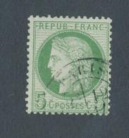 FRANCE - N° 53 OBLITERE AVEC CAD PARIS - 1872 - COTE : 10€ - 1871-1875 Cérès