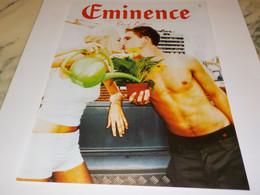 ANCIENNE PUBLICITE ETRE BIEN  EMINENCE 2002 - Otros