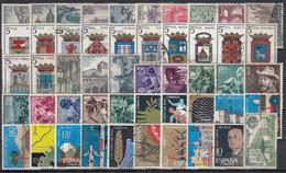 ESPAÑA 1964 Nº 1541/1630 AÑO COMPLETO USADO 90 SELLOS - Full Years