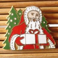 Joli Pin's Père Noël, émail Grand Feu, TBQ, Pins Pin. - Natale