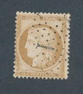 FRANCE - N° 59 OBLITERE AVEC ETOILE DE PARIS 1 ET PIQUAGE OUEST - 1871 - 1871-1875 Cérès
