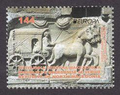 North Macedonia 2020 Europa CEPT Ancient Postal Routes Horses Fauna Stage Coach MNH - Macedonia