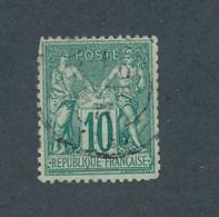 FRANCE - N° 76 OBLITERE - COTE : 325€ - 1876 - 1876-1898 Sage (Type II)