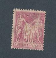 FRANCE - N° 104 OBLITERE - COTE : 45€ - 1900 - 1898-1900 Sage (Type III)