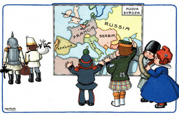 CPA - WW1 WWI Propaganda Propagande - KAISER - A. BERTIGLIA - Umoristica Satirica, Humour Satirique - NV - PV837 - Oorlog 1914-18