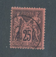 FRANCE - N° 91 OBLITERE - COTE : 30€ - 1878 - 1876-1898 Sage (Type II)
