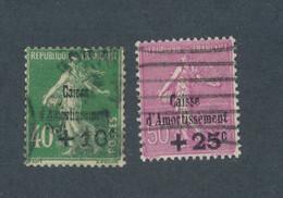 FRANCE - N° 253/54 OBLITERES - COTE : 47€ - 1929 - Gebruikt