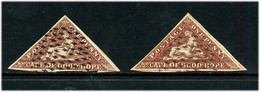 Cap De Bonne - Espérance : 2 Valeurs ? - Cape Of Good Hope (1853-1904)
