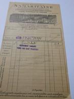 T699 / Facture GRANDS MAGASINS DE LA SAMARITAINE - Invoices