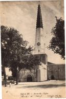 46- Ile De RE - Ars En Ré , L'Eglise - Ile De Ré