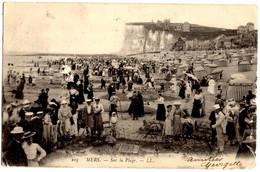 105- Mers - Sur La Plage - Mers-Les-Bains (Somme) - Voyagé 1903 - Mers Les Bains