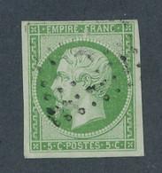 FRANCE - N° 12 OBLITERE LOSANGE K - COTE : 115€ - 1854 - 1853-1860 Napoleon III