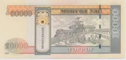 MONGOLIA P. 69b 10000 T 2009 UNC - Mongolia