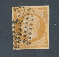 FRANCE - N° 13A OBLITERE LOSANGE J DE PARIS - COTE MINI : 20€ - 1853 - 1853-1860 Napoleon III