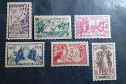 France (ex-colonies & Protectorats) > Guinée Française (1892-1944) > Neufs N° 143/148 - Unused Stamps