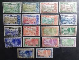 France (ex-colonies & Protectorats) > Guinée Française (1892-1944) >  N° 125/132  **/*/O - Unused Stamps
