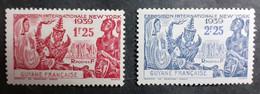 France (ex-colonies & Protectorats) > Guinée Française (1892-1944) >  N° 150/151 - Unused Stamps
