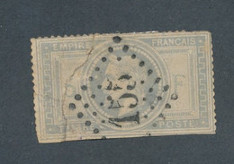 FRANCE - N°33 OBLITERE GC 155 ARGENTEUIL - COTE MINI : 1150€ - 1869 - 1863-1870 Napoleon III Gelauwerd