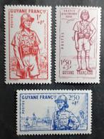 France (ex-colonies & Protectorats) > Guinée Française (1892-1944) >  N° 169/171 ** - Unused Stamps