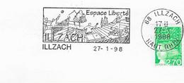 """1998 Espace """"Liberté"""" à Illzach: Volley-Ball, - Volleyball"""