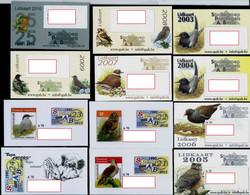 Lot De Carte De Membres  (12 Cartes Différentes) - 1985-.. Vogels (Buzin)