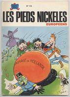 LES PIEDS NICKELÉS - Européens - N° 110 - 1980 - Pellos - EO - Édition Originale - Pieds Nickelés, Les