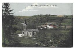 01 Sainte Croix, L'église Et La Vallée (6935) - Otros Municipios