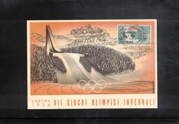Italy / Italia 1964 Olympic Games Cortina D'Ampezzo - Ice Hockey Interesting Postcard - Winter 1956: Cortina D'Ampezzo