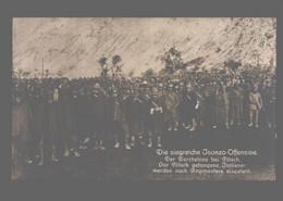 Slovenia - Die Siegreiche Isonzo-Offensive - Der Durchstoss Bei Flitsch - Vor Flitsch Gefangene Italiener ... - Guerra 1914-18