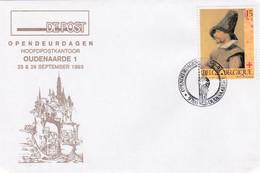 Enveloppe 2489 Opendeurdagen Hoofdpostkantoor Oudenaarde 1 - Covers & Documents