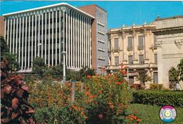 1 AK Paraguay * Die Hauptstadt Asuncion - Heroes Square And City Bank Building * - Paraguay