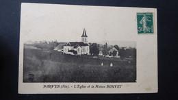 PARVES - L'église Et La Maison BOUVET - Altri Comuni