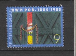 COB 2167 Centraal Gestempeld Oblitération Centrale BRUGGE - Used Stamps