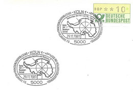 Polaire Allemagne - Station Georg Von Neumayer Arctic - 29 Novembre 1981 - Arctic Expeditions
