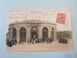 CPA FRANCE, Département 78. YVELINES. SAINT-GERMAIN-EN-LAYE : La Gare. Voyagée En 1905. - Unclassified