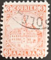Germany Stadtpost/Privatpost Apolda 3 Pfg 1894 Used Michel 7 - Sello Particular