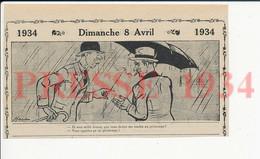 2 Vues Humour Printemps Pluvieux Parapluie Pluie + Courrier Des Impôts  198PF51 - Unclassified