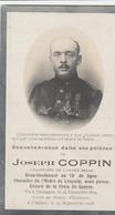 ABL , Coppin Né à Jemappes 1894 - Clerken 1918 - Todesanzeige