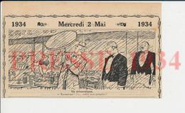 2 Vues Humour Terrasse De Café Parapluie Table De Bar Pluie Bouteilles Siphons 198PF51 - Unclassified