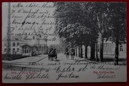 CPA 1903 Spa, Liège - Place Royale Avec Attelage - Spa
