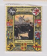Wereldoorlog I Vignette Delandre België - Commemorative Labels